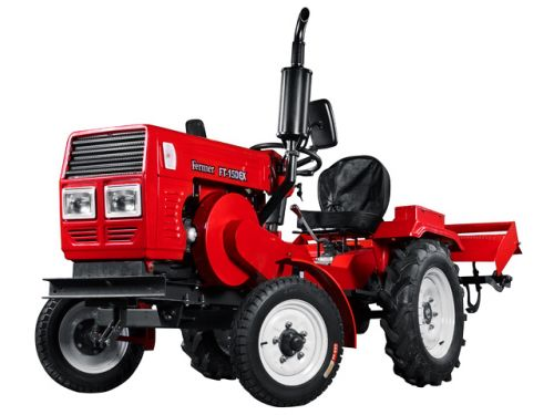 Мини-трактор FERMER FT 15DEK